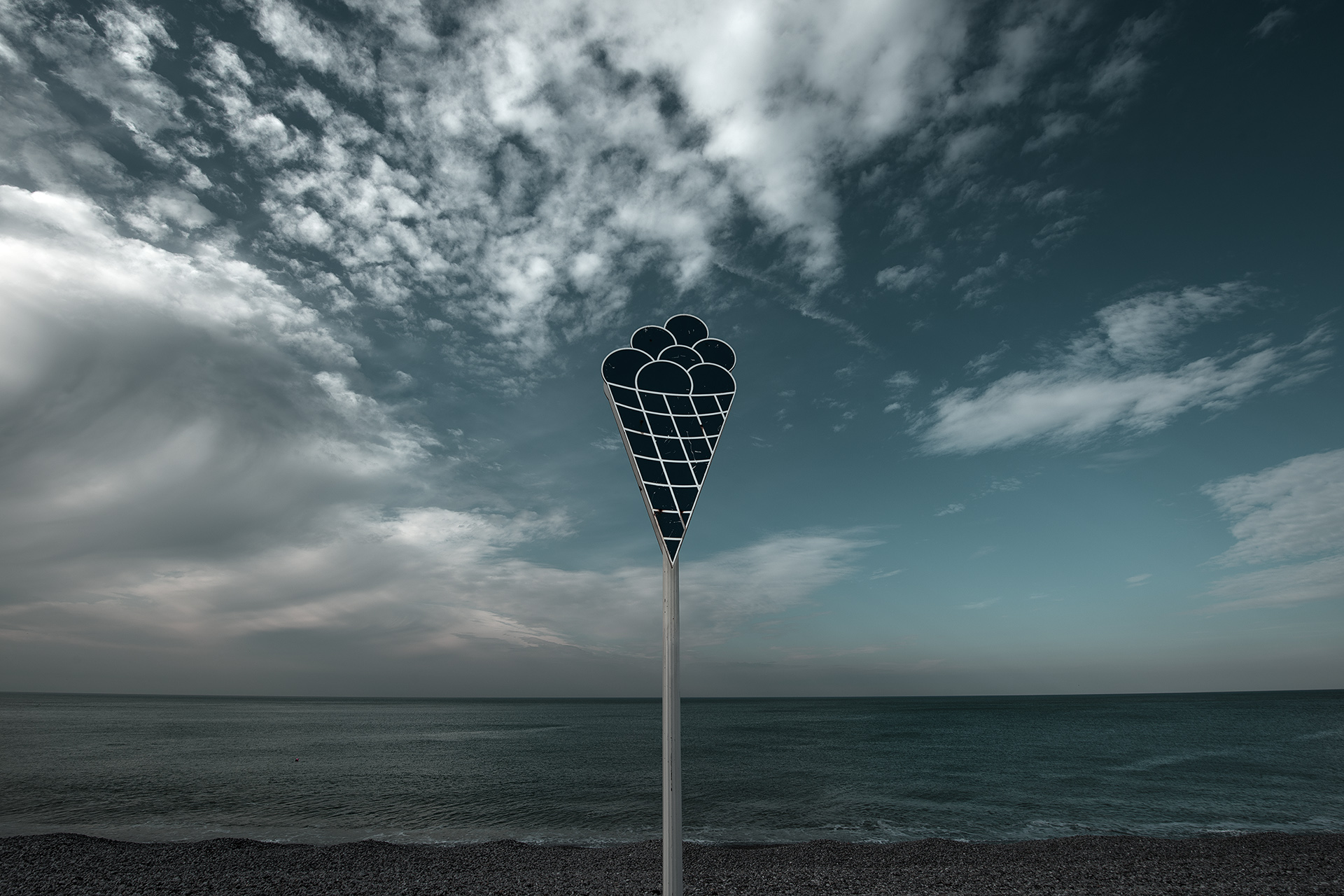 Fagylalt a La Manche- csatornánál