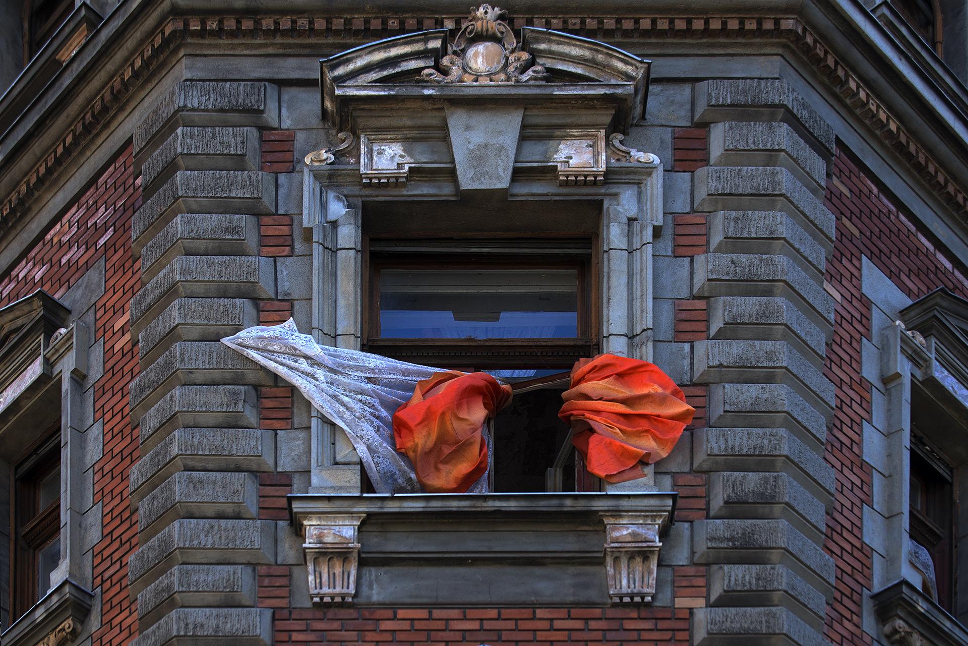 Narancs függöny - Körönd